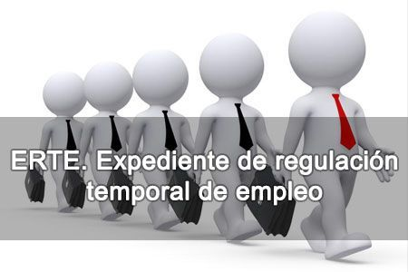 erte. expediente de regulación temporal de empleo